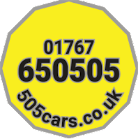 505cars.co.uk - Gamlingay - Airports and more 01767 650505